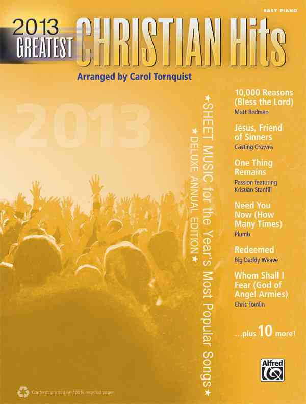 Greatest Christian Hits 2013 By Tornquist, Carol (COP)